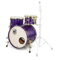 SJC Drums : Custom Stage set Purple brass