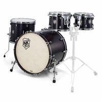SJC Drums : Custom Stage Set Satin Black