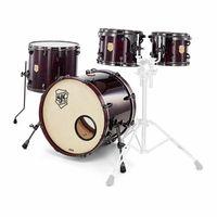SJC Drums : Custom 4-piece Merlot Pearl