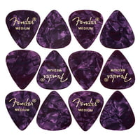 Fender : Purple Moto Pick Medium