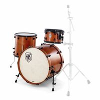 SJC Drums : Tour 3pc shell set ochre/black
