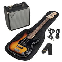 Fender : SQ Affinity PJ Bass Pack BSB