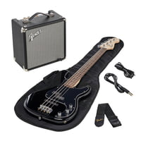Fender : SQ Affinity PJ Bass Pack BLK