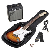Fender : SQ Strat Pack SSS BSB GB