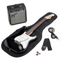 Fender : SQ Strat Pack SSS BLK GB