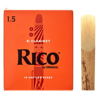 DAddario Woodwinds : Rico Bb- Clarinet 1,5 Boehm