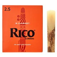 DAddario Woodwinds : Rico Bb- Clarinet 2,5 Boehm