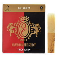 DAddario Woodwinds : Grand Concert Thick Blank 2