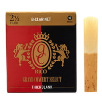 DAddario Woodwinds : Grand Concert Thick Blank 2,5