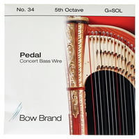 Bow Brand : Pedal Wire 5th G String No.34