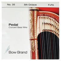 Bow Brand : Pedal Wire 5th F String No.35