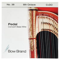 Bow Brand : Pedal Wire 6th C String No.38