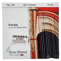Bow Brand : Pedal Wire 6th E String No.36