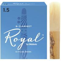 DAddario Woodwinds : Royal Boehm Bb- Clarinet 1,5