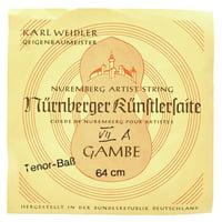 Weidler : Tenor Viola da Gamba A String