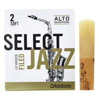 DAddario Woodwinds : Select Jazz Filed Alto 2S