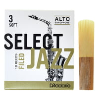 DAddario Woodwinds : Select Jazz Filed Alto 3S