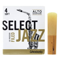 DAddario Woodwinds : Select Jazz Filed Alto 4S