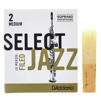 DAddario Woodwinds : Select Jazz Filed Soprano 2M