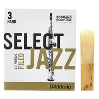 DAddario Woodwinds : Select Jazz Filed Soprano 3H