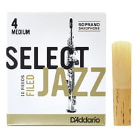 DAddario Woodwinds : Select Jazz Filed Soprano 4M