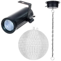 Fun Generation : PinSpot Mirror Ball Bundle 20