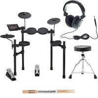 Yamaha : DTX402K E-Drum Set Bundle