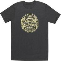 Fender : T-Shirt Medallion Gray S