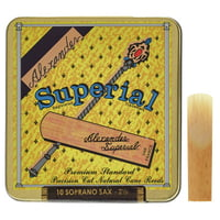 Alexander Reeds : Superial Soprano Saxophone 2,5