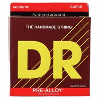 DR Strings : Pre-Alloy PL-10 Acoustic Light