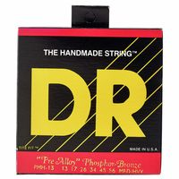 DR Strings : Pre-Alloy PMH-13 Acoustic Med.