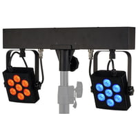 Stairville : CLB5 2P RGB WW Compact LED Bar