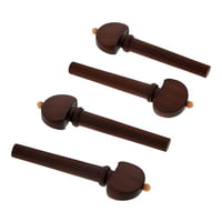 Berdani : Violin Pegs Dark Boxwood EN/WH