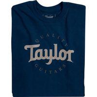 Taylor : T-Shirt Taylor Guitars Navy S
