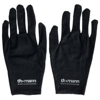 Thomann : Cotton Gloves Black L