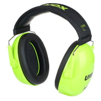 UVEX : K Junior Ear Protector lime