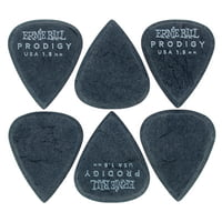 Ernie Ball : Prodigy Picks 1,5 mm STD BK