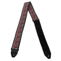 Ernie Ball : E-Guitar strap Royal Bloom