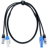 the sssnake : PC 1,5 Power Twist/DMX Cable
