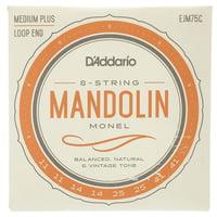 Daddario : EJM75C Mandolin String Set