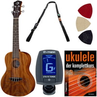 Luna Guitars : Ukulele Concert Tattoo Set G