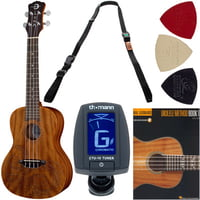 Luna Guitars : Ukulele Concert Tattoo Set E