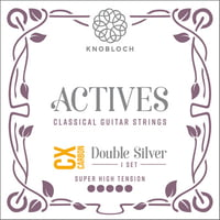 Knobloch Strings : Double Silver Carbon 600ADC