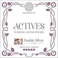 Knobloch Strings : Double Silver Special Nylon600