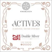 Knobloch Strings : Double Silver Nylon 200ADQ