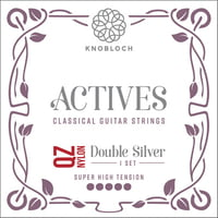 Knobloch Strings : Double Silver Nylon 600ADQ