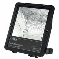 Showtec : Floodlight HQ-150 Black ASYM