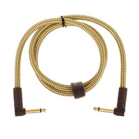 Fender : Deluxe Cable Angle Plug 90cm N