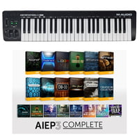 M-Audio : Keystation 49 MK3 AIEP3 Bundle