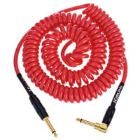 Kirlin : Premium Coil Cable 6m Red